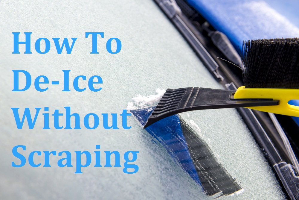 How To De-Ice Without Scraping